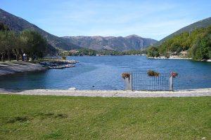 Lago di Scanno Gole del Sagittario in moto in Abruzzo