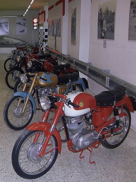 Motorcycles and mopeds museum DEMM – Porretta Terme (BO)