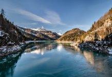 Friuli in moto - Lago di Sauris - veneto passi alpini itinerario