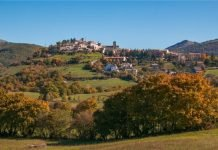 Monteleone di Spoleto - umbria moto itinerario percorsi vacanze