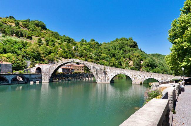 Ponte della Maddalena - Borgo a Mozzano