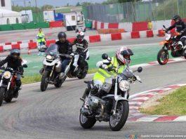 corso moto guida sicura strada pista