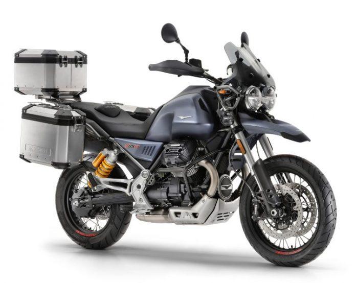 Moto Guzzi V85 TT classic enduro