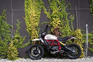 Ducati Scrambler Joyvolution desert sled