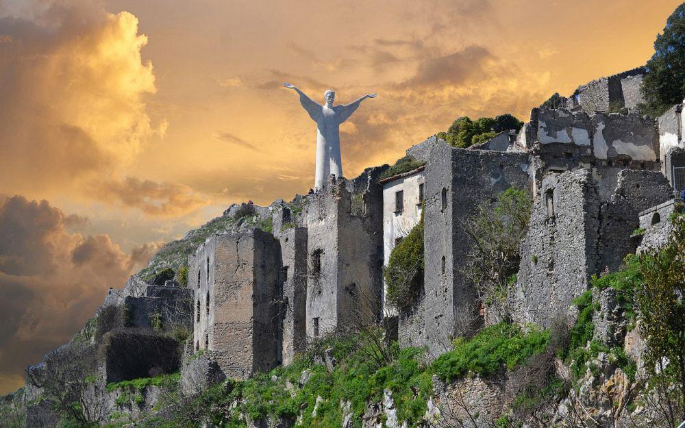 Maratea Il Cristo Redentore - Foto di Salvatore Monetti