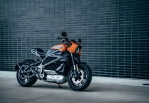 2018 Harley-Davidson livewire electric bike