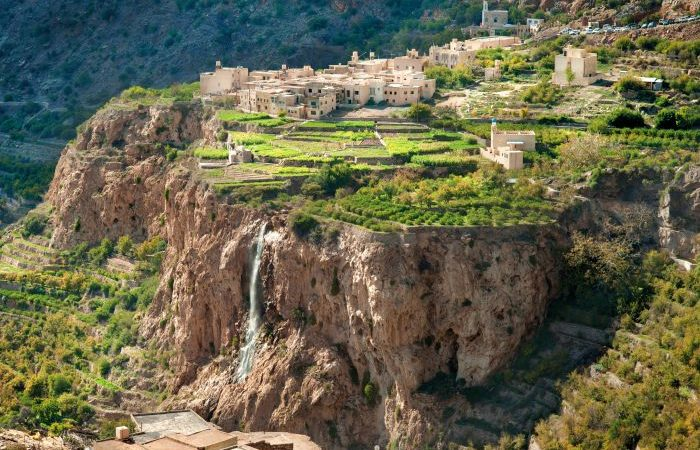 Ad Dakhiliyah - View from the top _ Jebel Akhdar, Ad Dakhiliyah, Oman