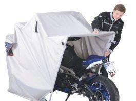 garage pieghevole acebike louis moto