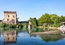 Borghetto sul Mincio moto vicino milano verona veneto itinerari