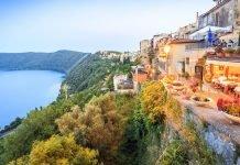 Castelli Romani - Nemi moto vicino roma lazio itinerari