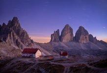 Tre cime di Lavaredo - dolomiti veneto moto itinerario trentino