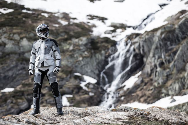 hevik titanium_r giacca touring moto