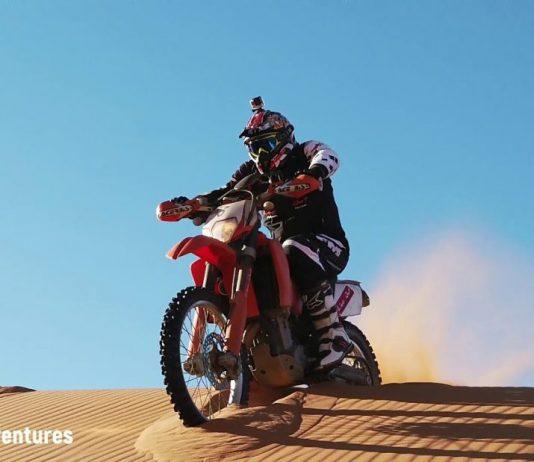 guida deserto corso live out sabbia