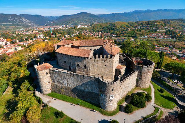 Castello di Gorizia moto friuli
