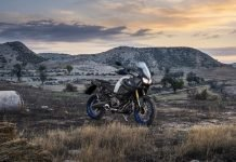 Yamaha blue bike camp adventure touring scuola moto xtz1200