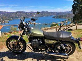 lago orta piemonte madonna sasso moto guzzi v9 roamer
