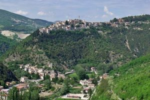 itinerario moto umbria cerreto di spoleto tre valli umbre