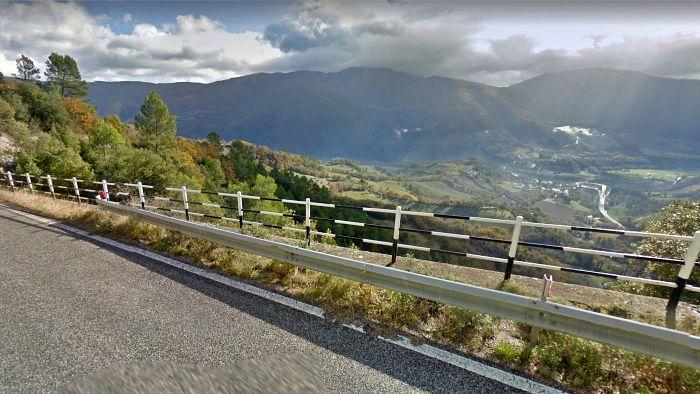 itinerario moto umbria cerreto di spoleto tre valli umbre valnerina