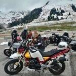 moto guzzi v85tt experience trentino 2019