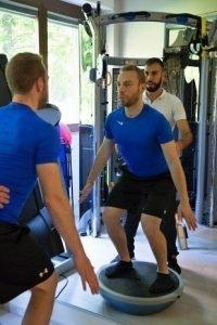 bosu tavoletta propriocettiva esercizi