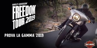 harley freedom tour italia 2019