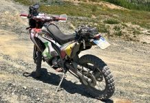 Honda crf anlas capra x-rally test