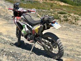 Honda crf anlas capra x-rally test