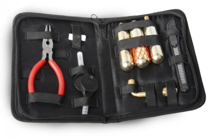 OJ Kit di riparazione gomme tubeless
