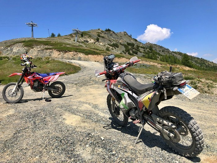Anlas Capra X-Rally Honda CRF Live Out