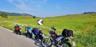 Giro In 125 sui Passi Alpini Veneto Trentino Lombardia