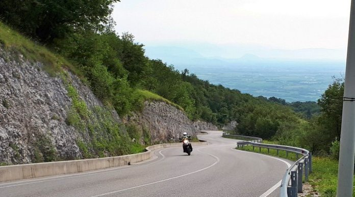 Friuli in moto - La Via dei Laghi - Salita a Piancavallo