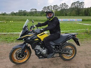 Suzuki V-Strom 650 XT Off-road test