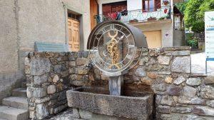 Friuli in moto - La Via dei Laghi - Orologio ad acqua a Pesariis