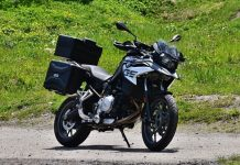 BMW F750 GS Crossover touring test