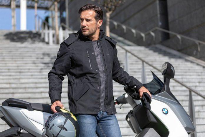 hevik andromed giacca moto citta