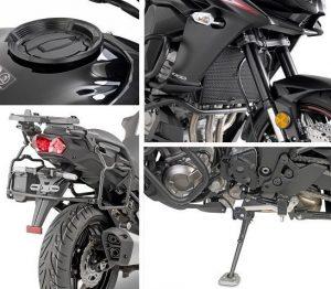 Allestimento completo KAPPA per Kawasaki Versys 1000