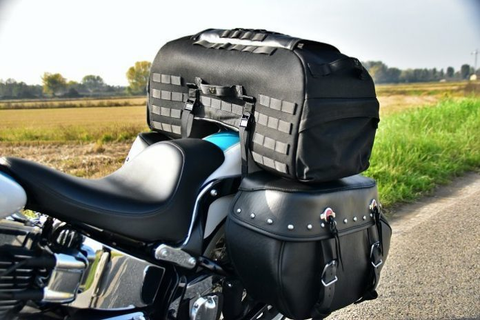 Legend Gear tail bag LR2 - Black Edition
