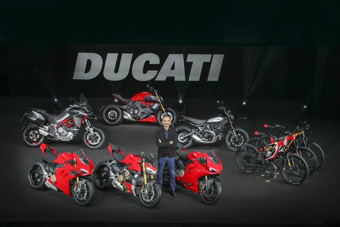 Ducati World Premiere 2020 Claudio Domenicali