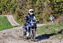 Honda True Adventure Offroad Academy Moto Excape