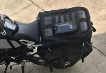SW Motech legend Gear Backpack and Tail bag