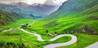 Moto svizzera Julier Pass