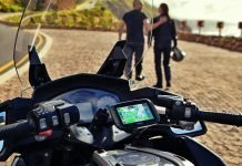tomtom road trips rider 550