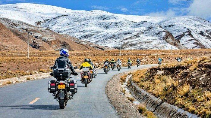 Tibet in moto