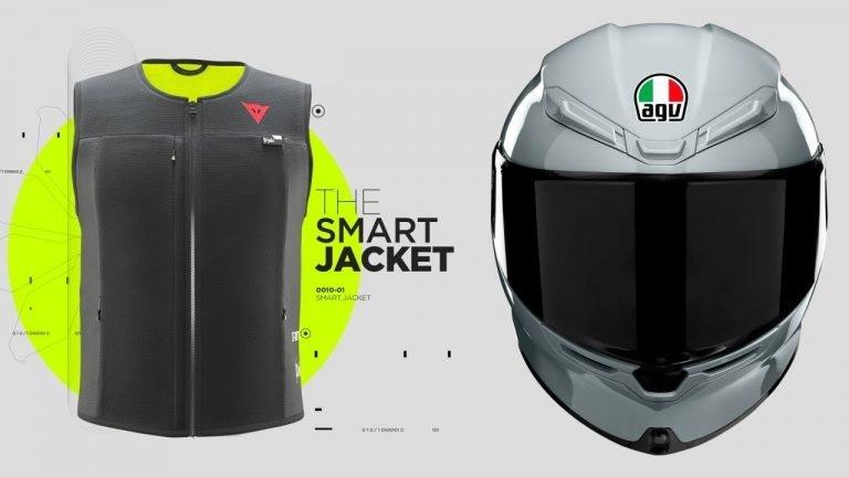 Dainese D-Air Smart Jacket e AGV K6