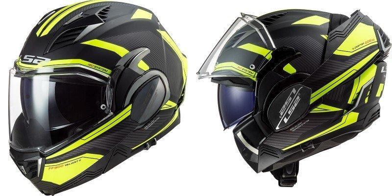 LS2 Valiant II casco modulare