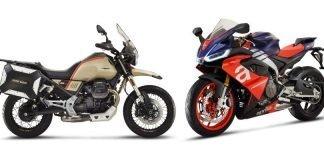 Moto Guzzi V85 TT Travel e Aprilia RS 660