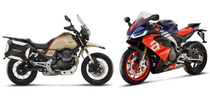 Moto Guzzi V85 TT Travel e Aprilia RS 660