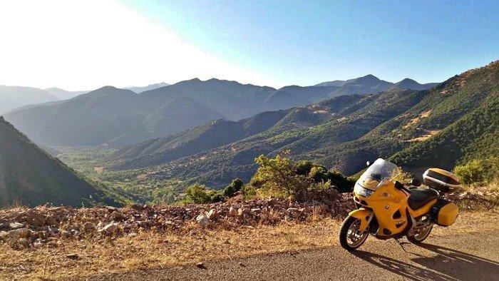 The BYK Viaggi in moto