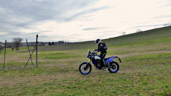 Blue Bike Camp Yamaha Ténéré 700