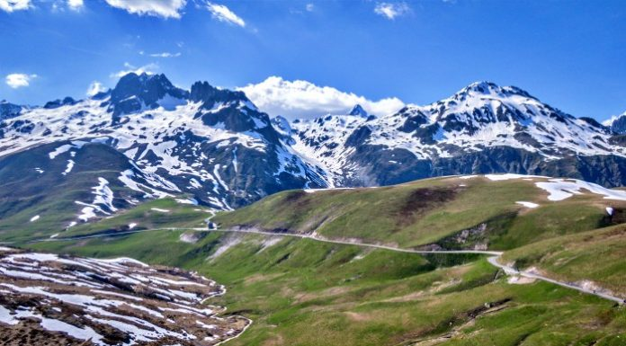 100 passi in moto - Col de la Croix de Fer